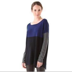 | vince. | Colorblock Tunic Sweater